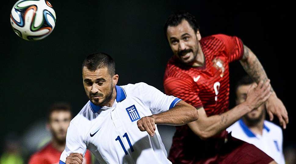 Sin Ronaldo, Portugal y Grecia reparten bostezos