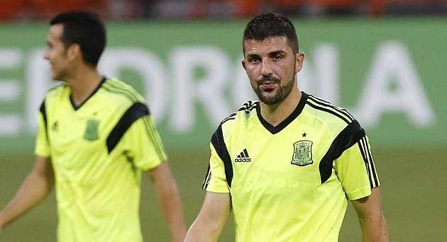 Villa vive en el Mundial sus últimos días en la selección