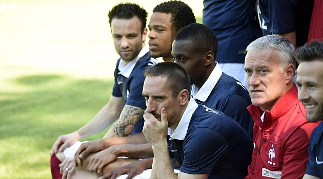 Ribéry se pierde el Mundial