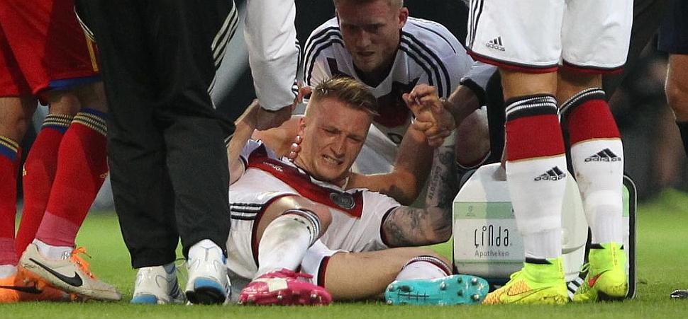 Reus se pierde definitivamente el Mundial