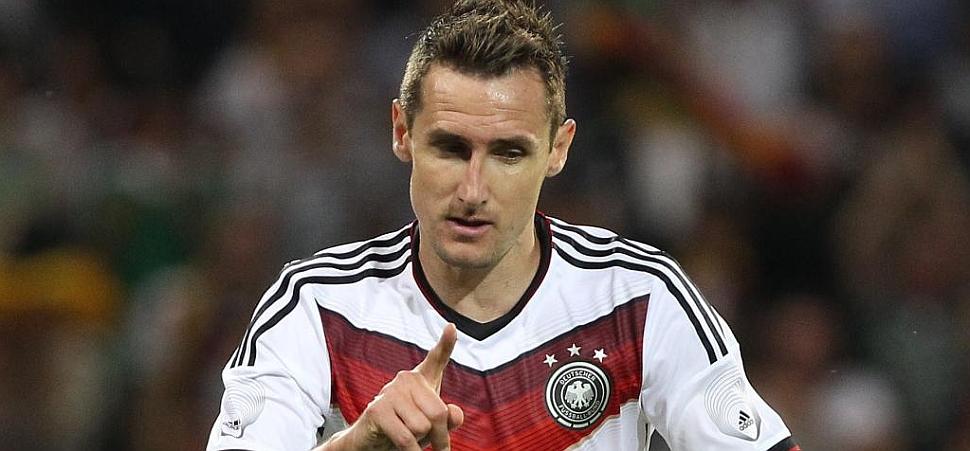 Klose supera a Torpedo Müller como máximo goleador histórico de Alemania