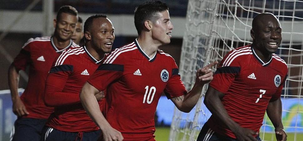 Colombia cierra su preparación con una victoria holgada ante Jordania