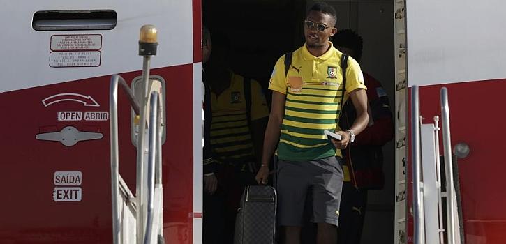 Camerún por fin está en Brasil