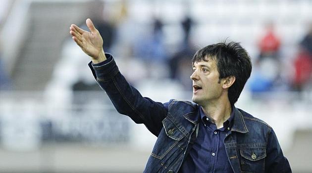 Pacheta, en su época como entrenador del Cartagena / Abel F. Ros (Marca)