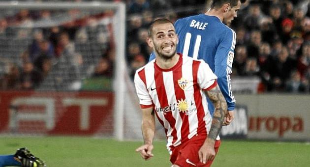 Vidal, en un partido de Liga | Foto: Curro Vallejo