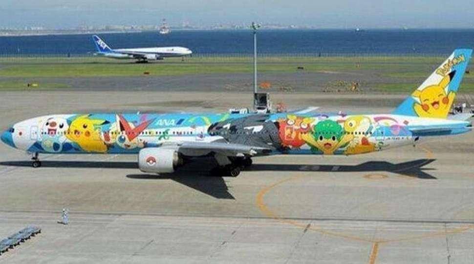 Japón no viajó en el avión Pokémon