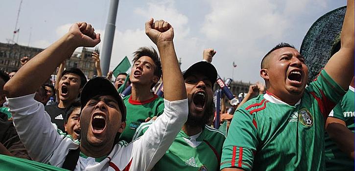 Las mejores imágenes del México-Camerún