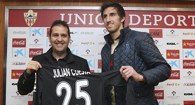 Juli�n Cuesta se quedar� tres a�os m�s