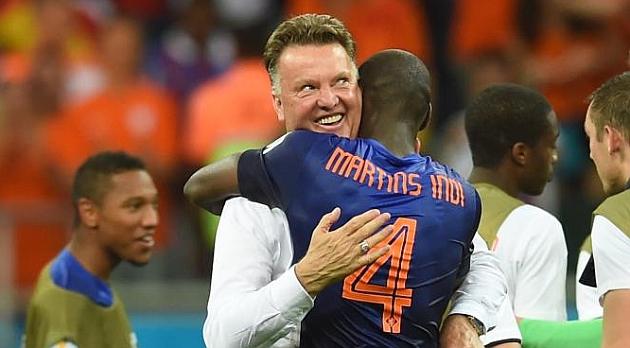 """Brasil contra Holanda: Van Gaal: """"Nunca pensé que meteríamos cinco goles a España"""" - MARCA.com"""