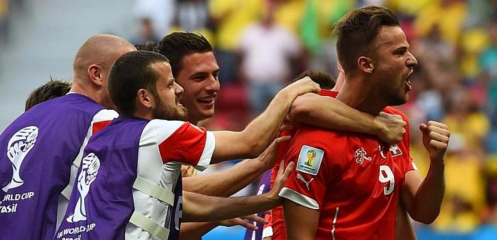 Gol de oro de Seferovic