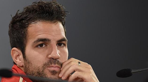 Cesc: Xavi y Puyol han decidido dar un paso al lado