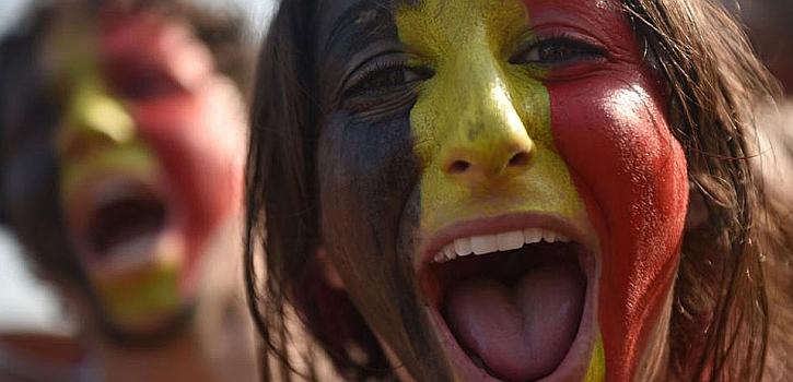 El Bélgica-Argelia, en imágenes
