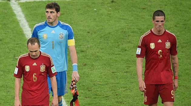 Spain dethroned