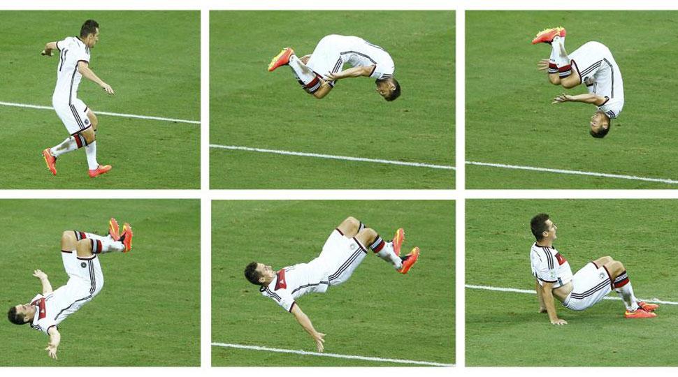 Klose iguala a Ronaldo como máximo goleador de los mundiales
