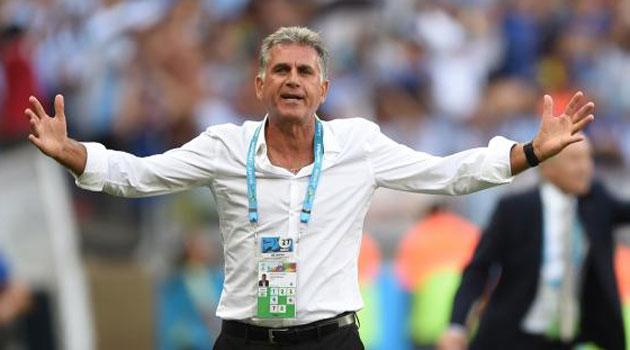 """Queiroz: """"Dos personas marcaron la diferencia: Messi y el árbitro"""""""