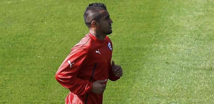 Arturo Vidal apunta al banquillo contra Holanda