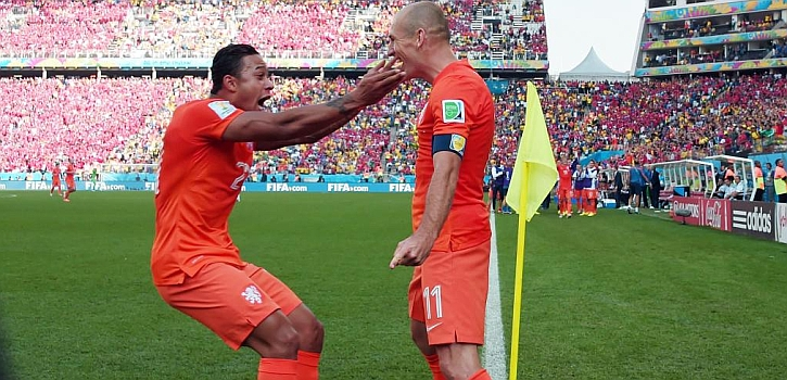 Holanda, hasta donde Robben quiera