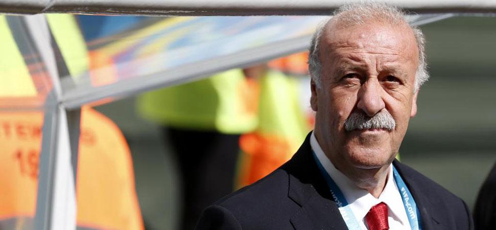"""De Bosque: """"No sabía que era el último partido de Villa, entiendo su enfado"""""""