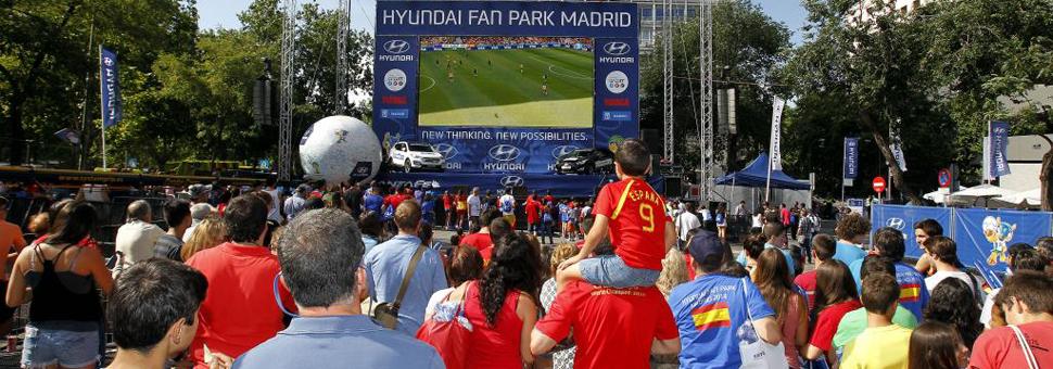 La Hyundai Fan Park despidió a la Selección