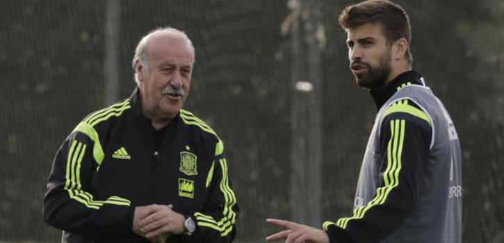 Cesc y Piqué, las decepciones de Del Bosque