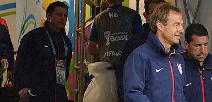 "Klinsmann: ""Es fantástico habernos clasificado"""