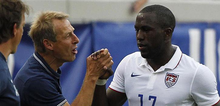 Klinsmann espera contar con Altidore ante Bélgica