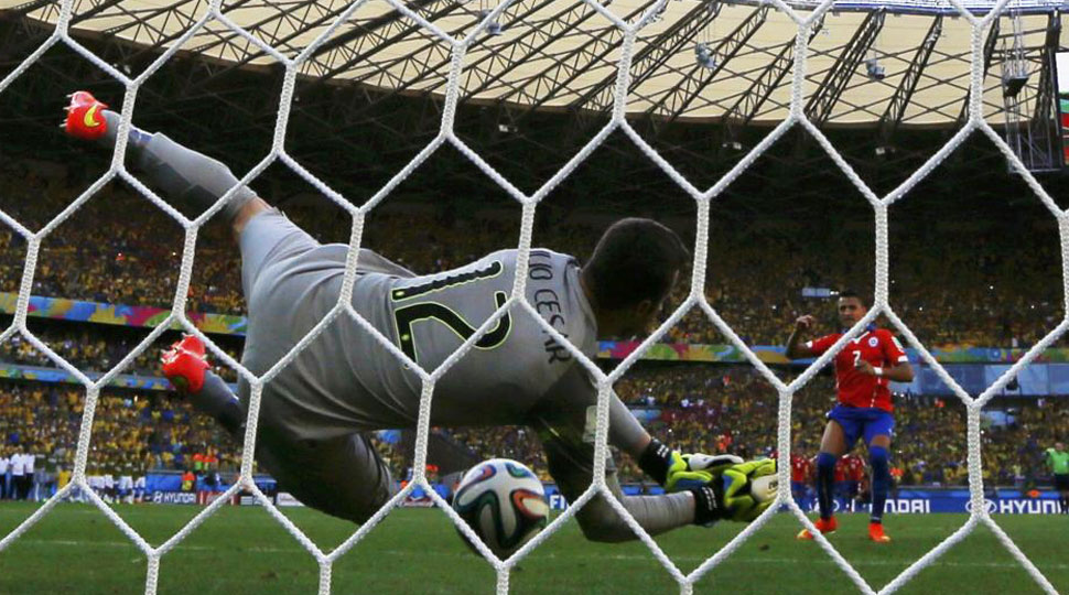 Así fue la tanda de penaltis