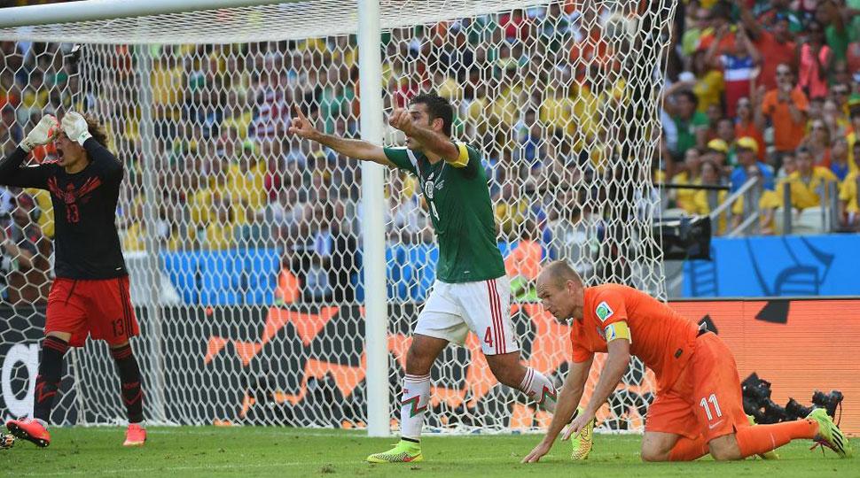 Márquez cometió penalti sobre Robben