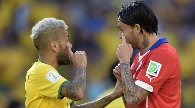 La FIFA investiga una pelea entre las delegaciones de Brasil y Chile