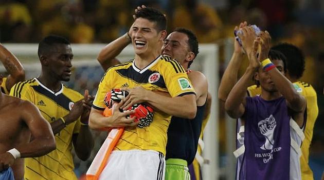 James se corona como la estrella del Mundial