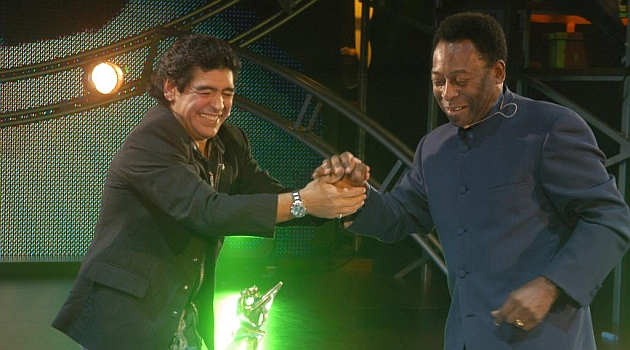 Passarella: Maradona era más vistoso; Pelé, más inteligente