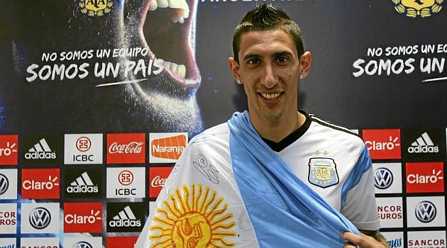 "Di María: ""Messi está tremendo, nos contagia a todos"""