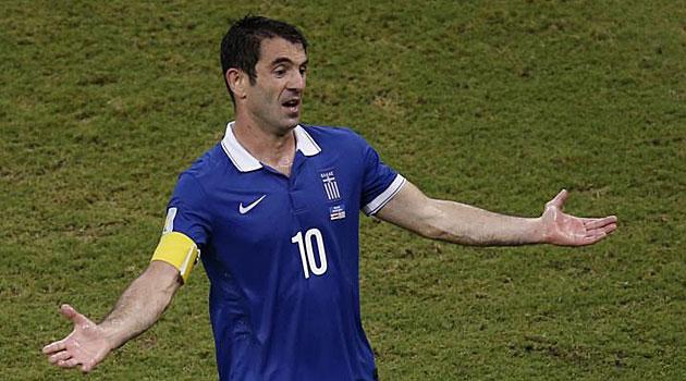 Karagounis deja la selección griega