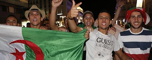 """Euforia y orgullo en Argelia pese a la derrota: """"Jugaron como hombres"""""""