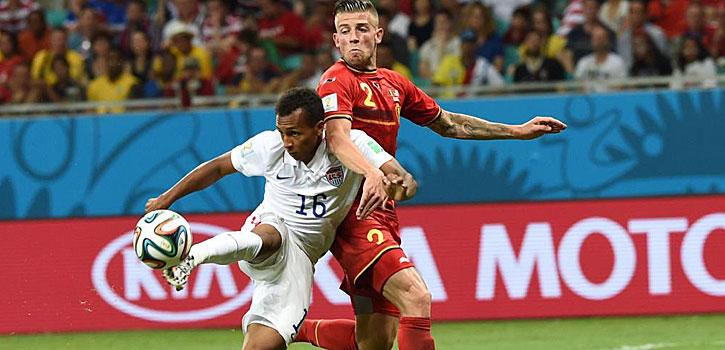 Green marcó uno de los goles del mundial