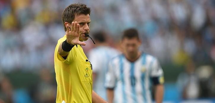 El italiano Rizzoli arbitrará el Argentina-Bélgica