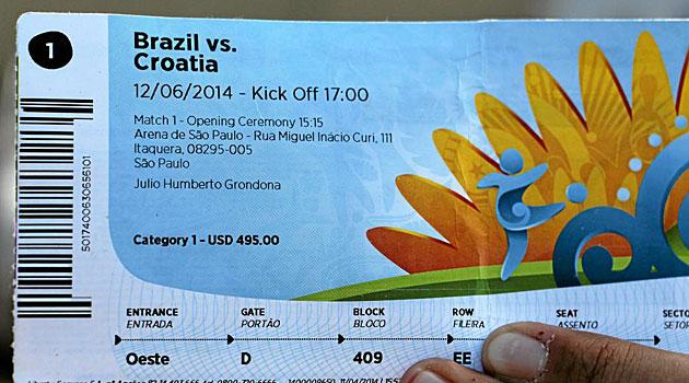 Escándalo por la reventa de entradas en Brasil