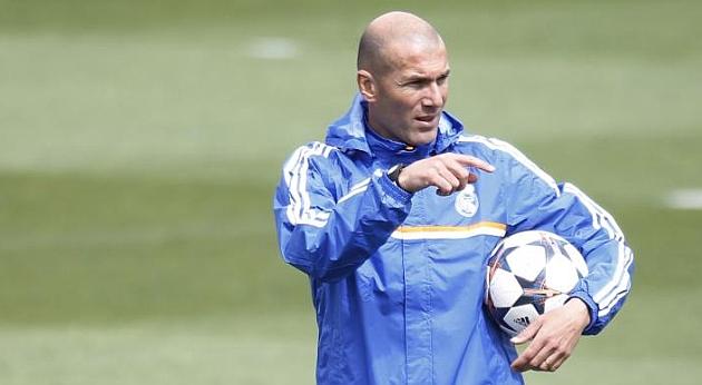 Zidane 'debuta' con el Castilla el 14 de julio