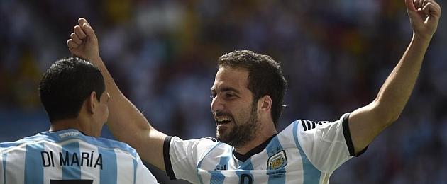 """Higuaín: """"Sabía que el gol llegaría en un momento importante"""""""