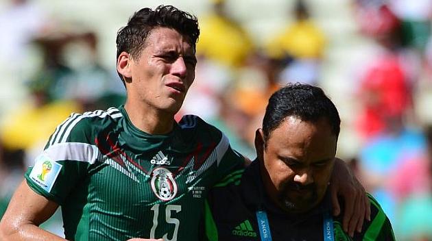 """Héctor Moreno: """"Ahora toca prepararme y recuperarme rápido"""""""