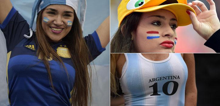 Las imágenes del Argentina-Holanda