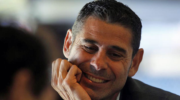 Fernando Hierro, Ancelotti's new right-hand-man