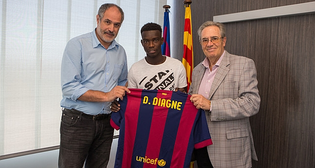 Diagne, nuevo refuerzo para el Barça B