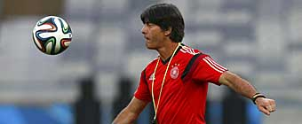 Löw ve la final frente a Argentina como una