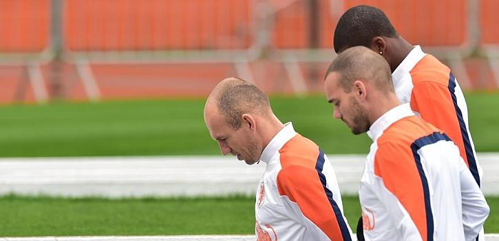 """Robben: """"Argentina no tiene ninguna opción, ganará Alemania"""""""