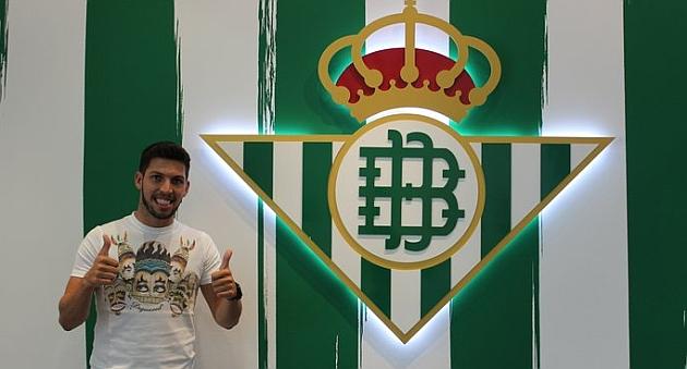 Dani Pacheco, nuevo jugador del Betis | Foto: Real Betis