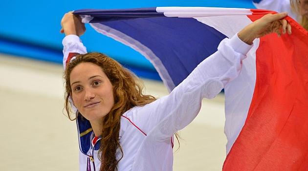 Camille Muffat, oro olímpico en 400 metros libres, se retira de la natación