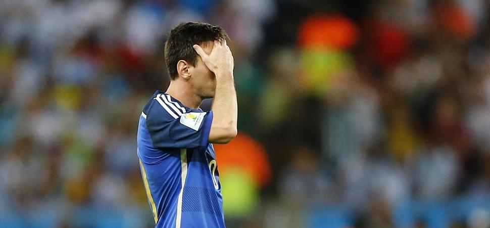 Messi volvió a vomitar