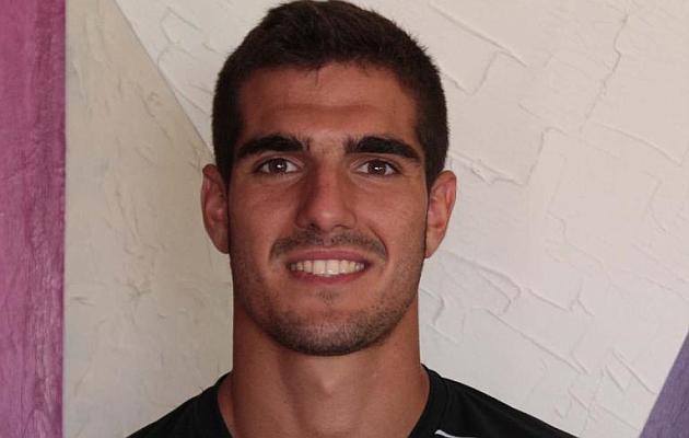 El futbolista de 21 años debutó en la Liga Adelante la pasada temporada.
