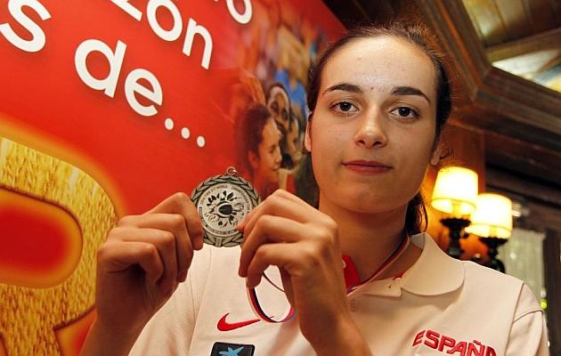 Ángela Salvadores, una de las líderes de la selección femenina Sub18